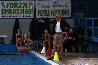 Il tecnico del Volturno, Napolitano (foto: sportcasertano.it)